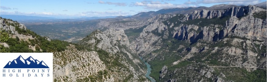 verdon gorge self guided walking holiday